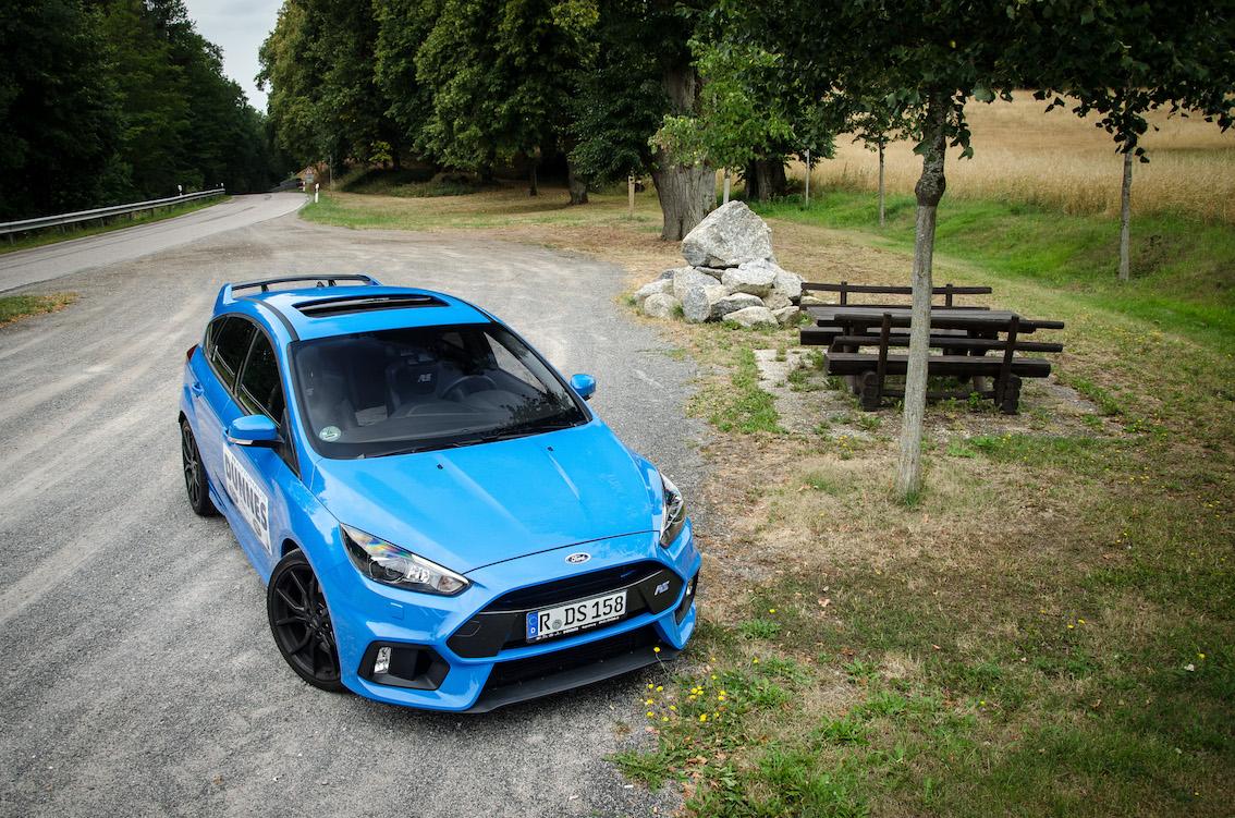 Ford Focus RS 2018 Blau
