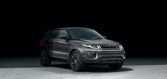 Range Rover Black Edition in Grau 2018