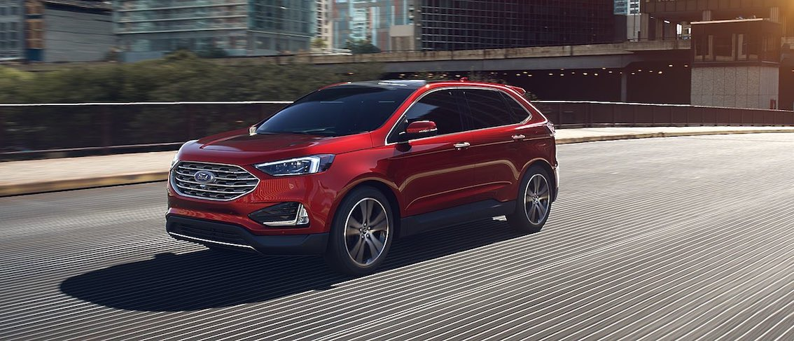 Ford Edge 2019 Rot US Version Front