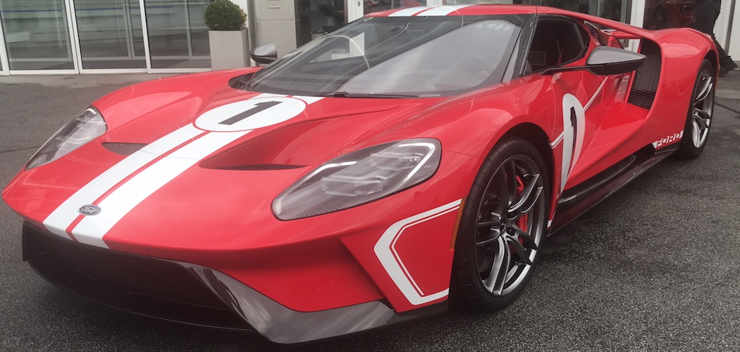 Ford GT 2018 67 Heritage Edition