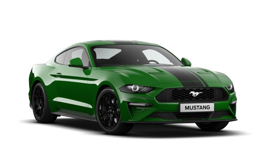 Ford Mustang Venum Grün