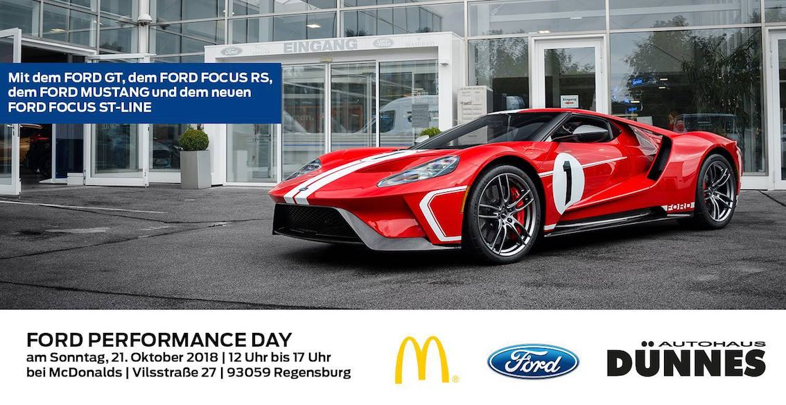 Ford Performance Day 2018 Regensburg