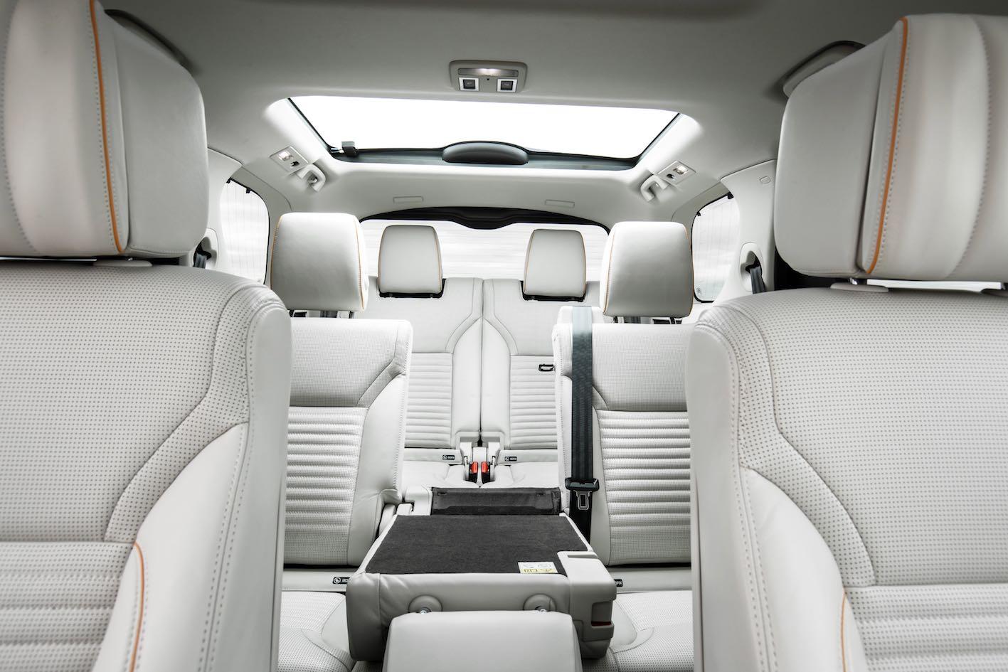 Land Rover Discovery 2019 Innenausstattung