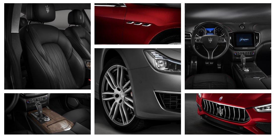 Maserati Ghibli 2019 Innenausstattung