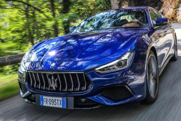 Maserati Ghibli Modell 2019 Blau