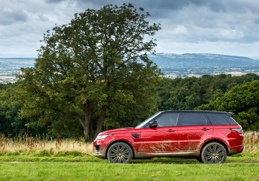 vorstellung range rover sport 2018 first zero emission plug in. Black Bedroom Furniture Sets. Home Design Ideas