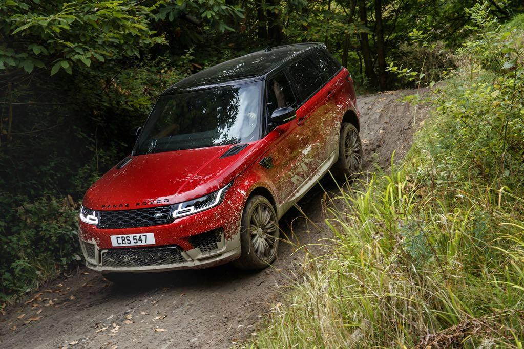 Range Rover Sport 2018 Rot 2