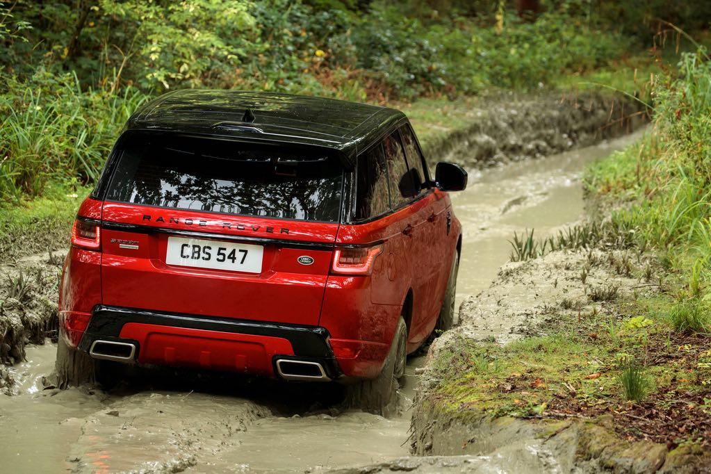 Range Rover Sport 2018 Rot 3