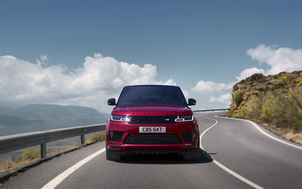 Range Rover Sport 2018 Rot 4