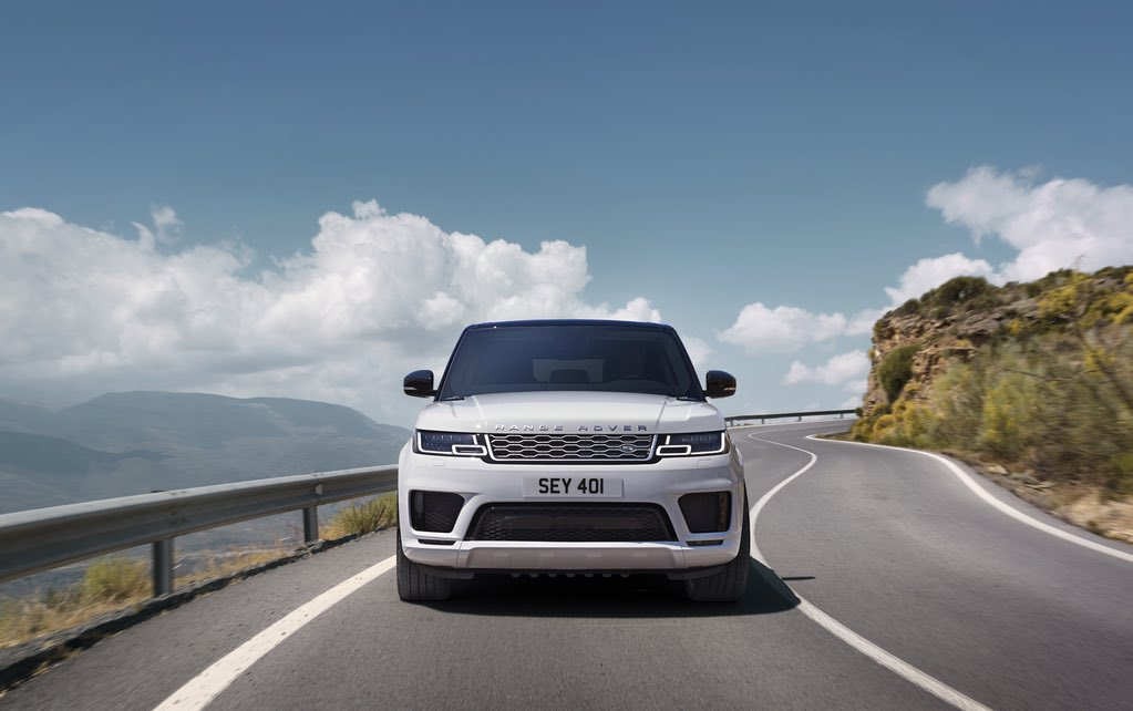 Range Rover Sport 2018 Weiss 1
