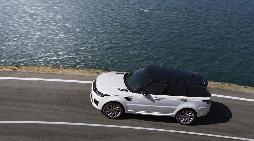 Range Rover Sport 2018 Weiss 2