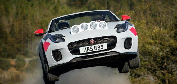 F-Type Rallye Auto von jaguar