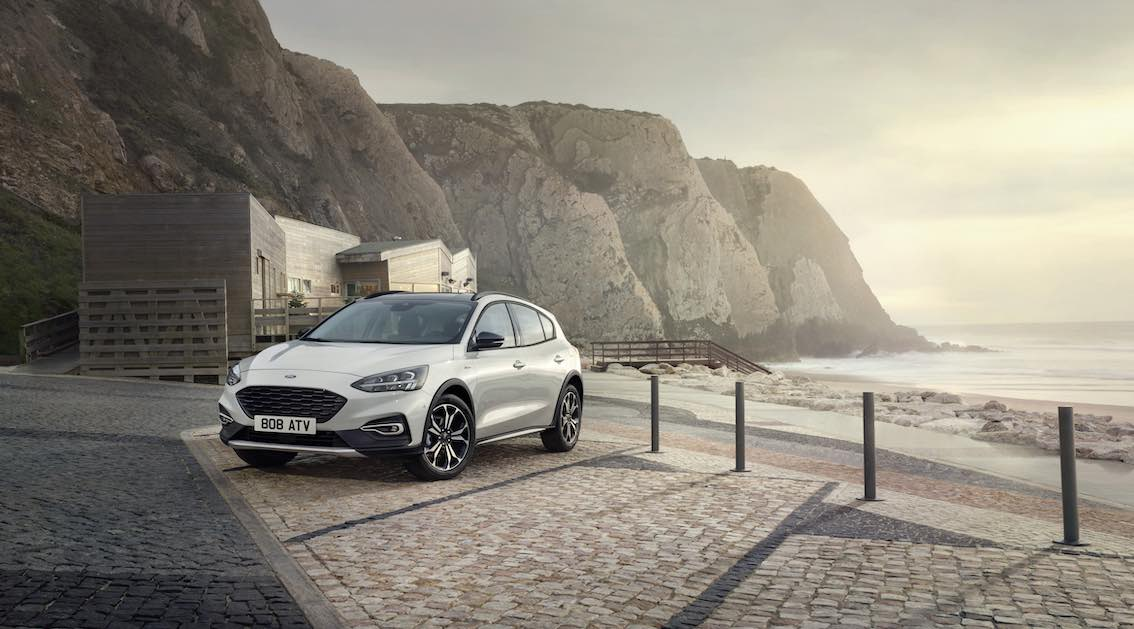Ford Focus 2019 Active am Strand Front