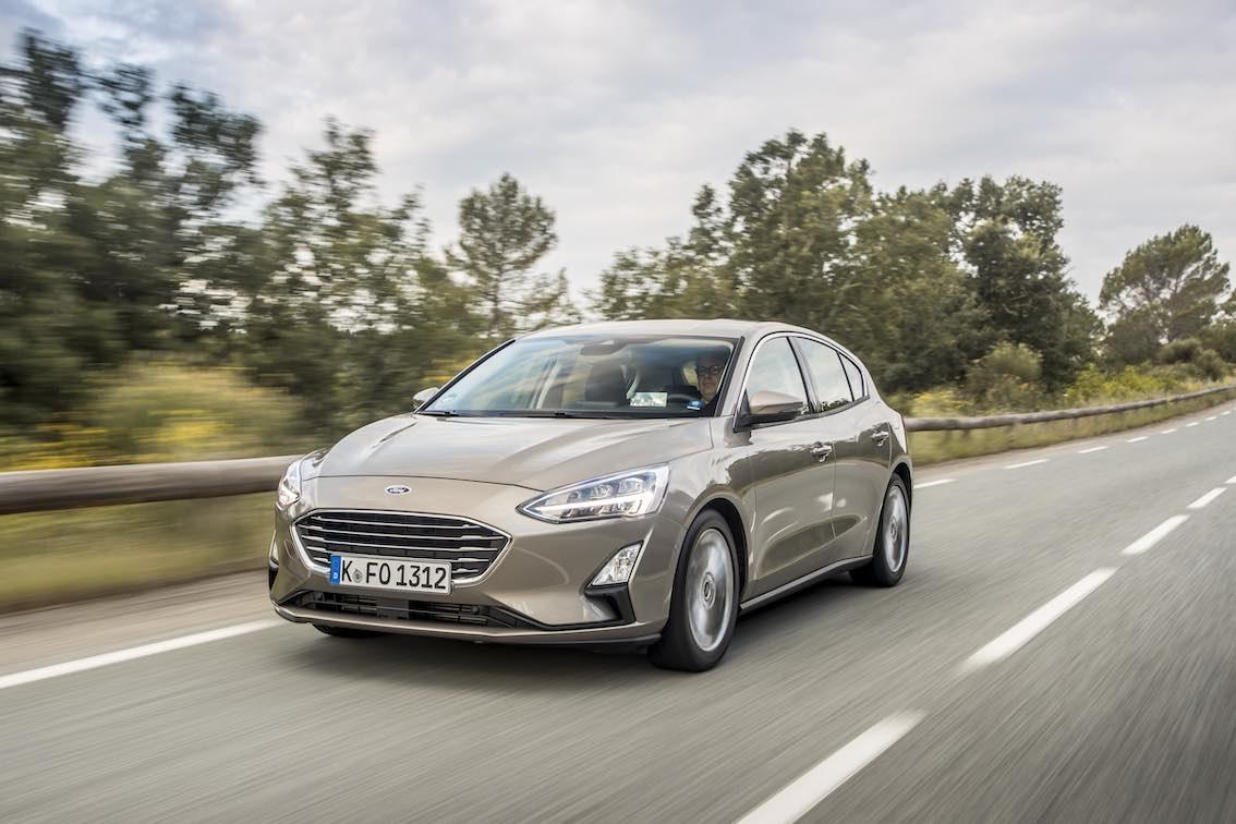 Ford Focus Titanium 2019 Front fahrend