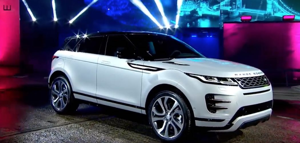 Range Rover Evoque 2019 Video