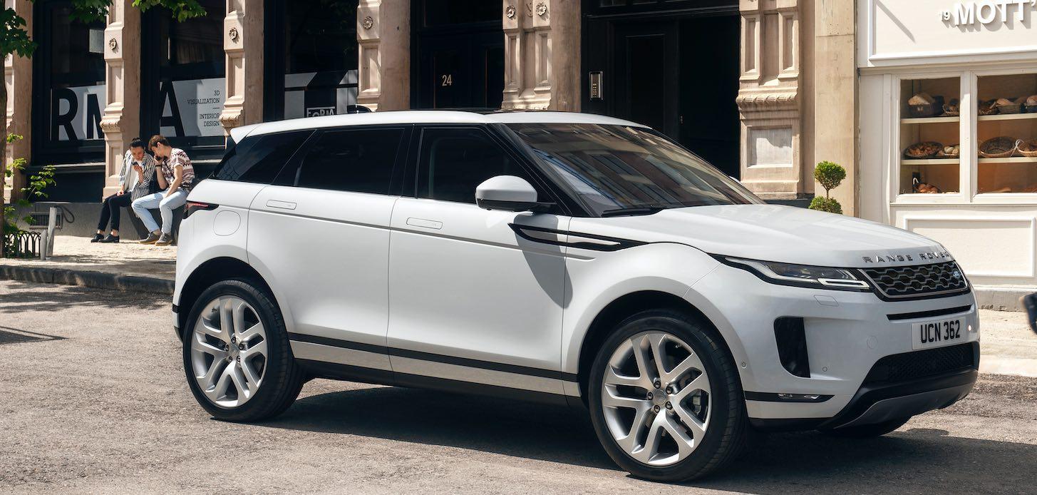 Range Rover Evoque 2020 neues Modell weiß