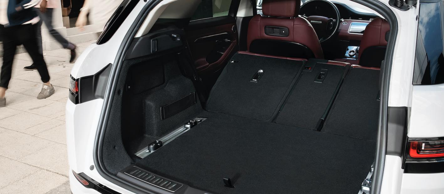 Range Rover Evoque neues Modell 2020 Kofferraum