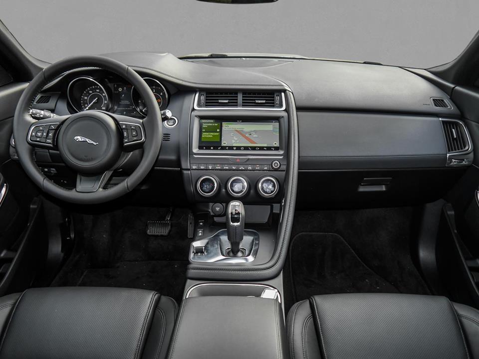 Jaguar E-Pace Innenausstattung Schwarz Leder