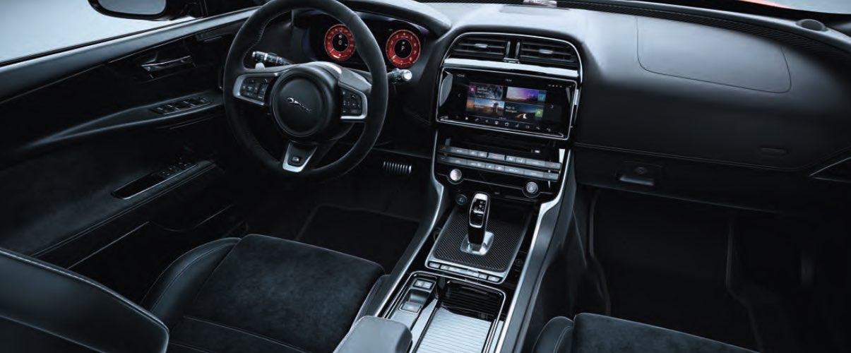 Cockpit Jaguar XE Project 8