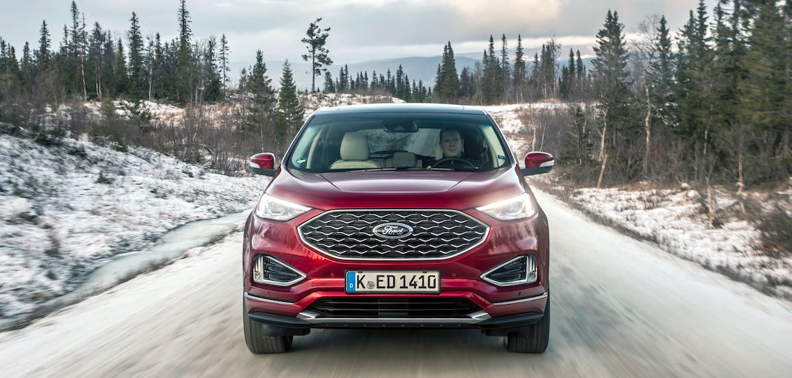Ford Edge 2019 rot Front