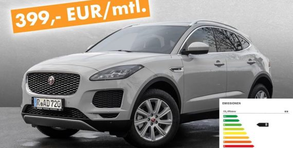 Jaguar E-Pace Leasing Angebot