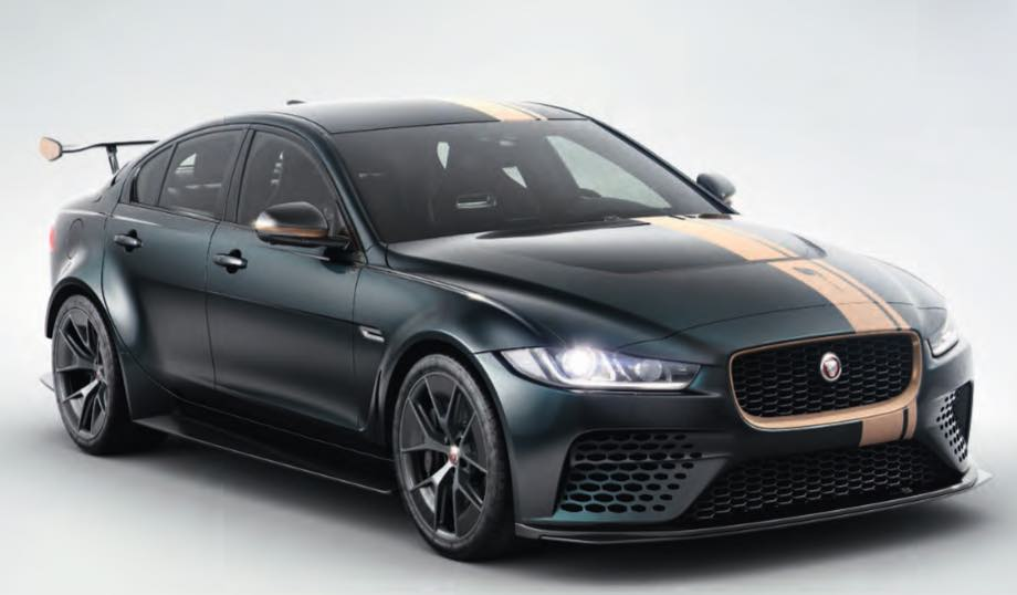 Jaguar SV Project 8 Bespoke Lackierung