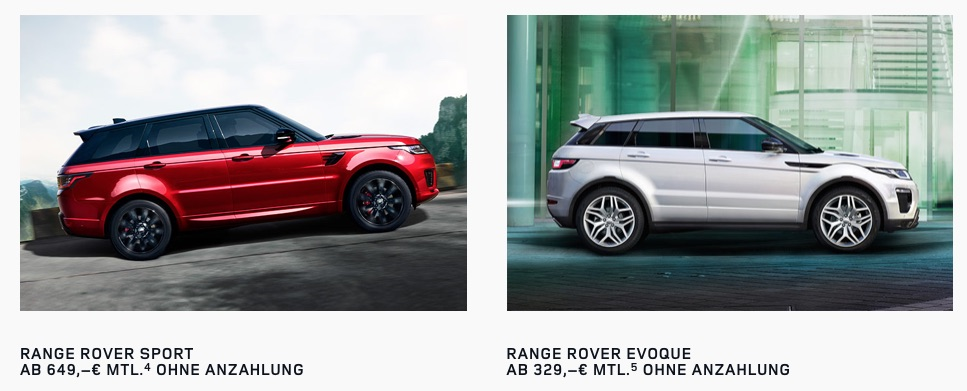 Land Rover Leasing 1