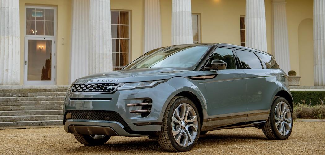 Range Rover Evoque Blau 2020