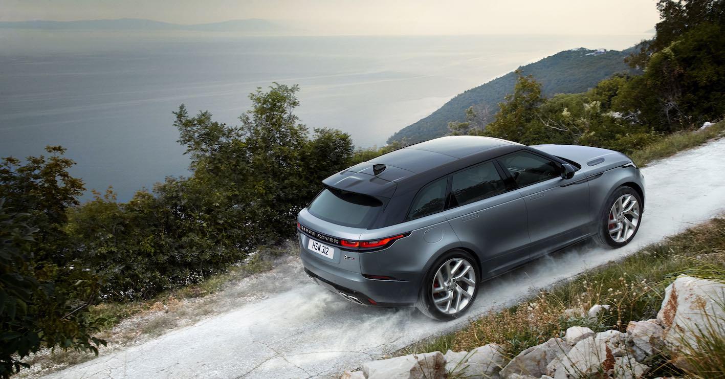 Range Rover Velar SV Autobiography 2019 Berg hoch fahrend