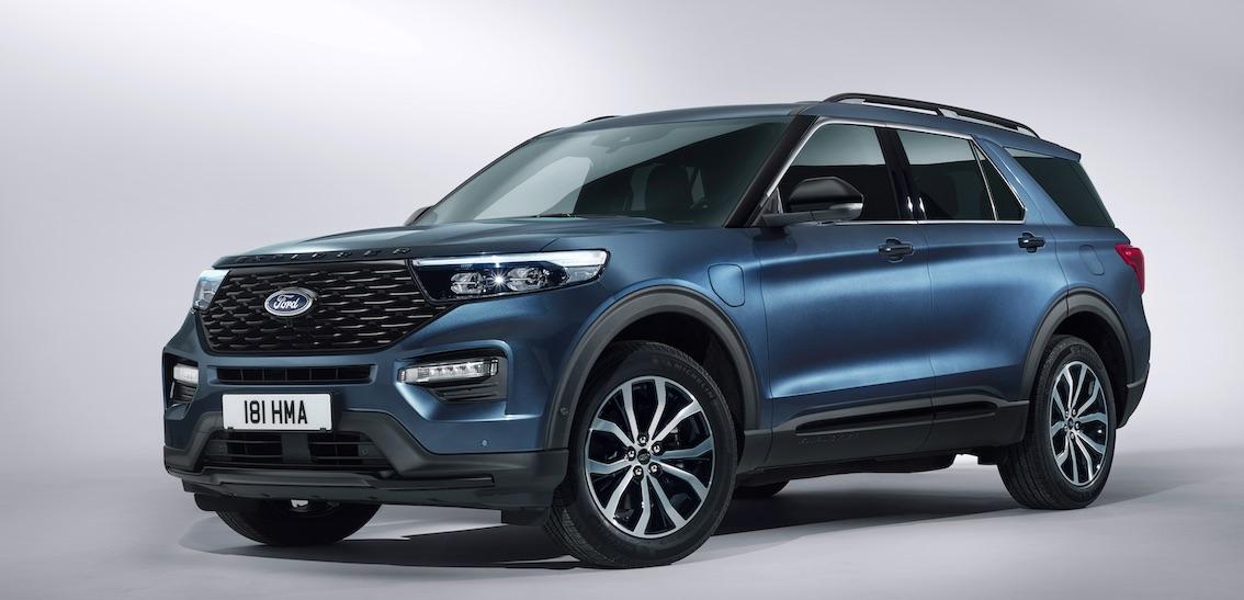 Ford Explorer 2020 Blau Deutschland