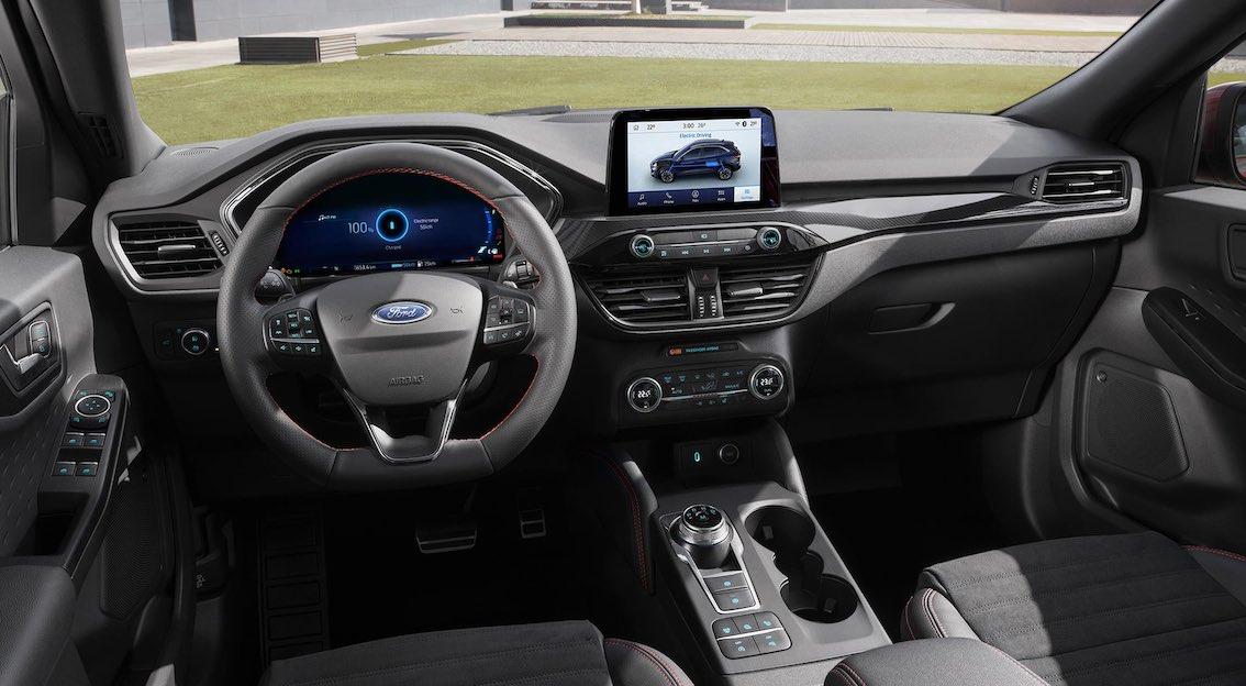 Ford Kuga Innenausstattung Modell 2020 mit Carbon