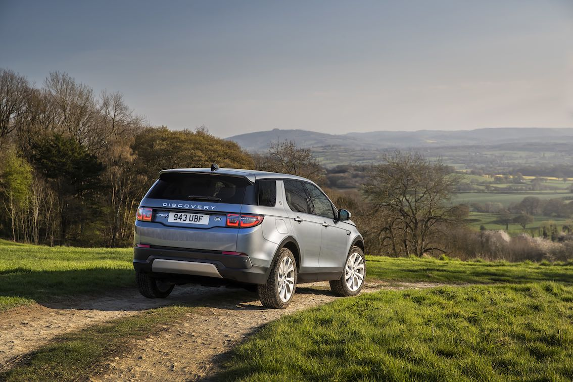Land Rover Discovery Sport 2020 Heck