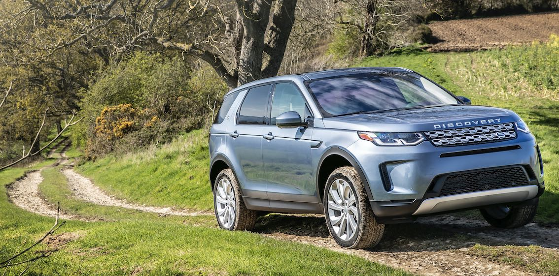 Land Rover Discovery Sport 2020 in Blau