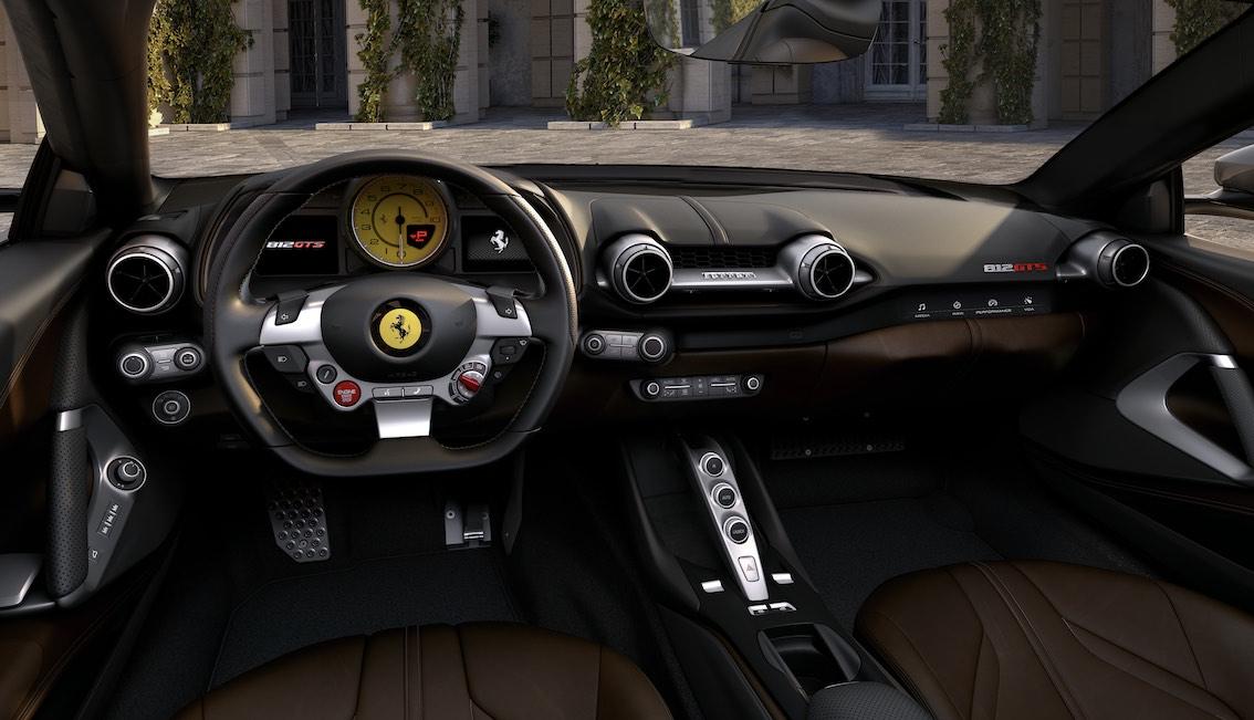 Ferrari 812 Spider GTS Armaturenbrett
