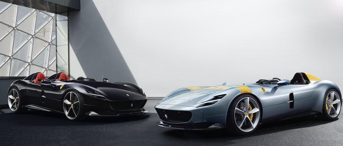 Ferrari SP1 und SP2