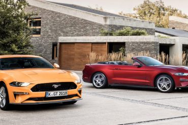 Ford Mustang 2.3 Liter Cabrio und Coupe