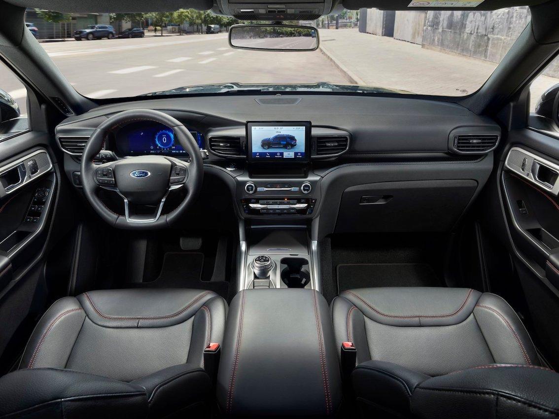 Ford Explorer 2020 Innenausstattung Lenkrad