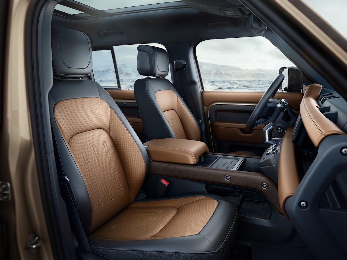 Land Rover Defender 2020 Sitze Innenausstattung