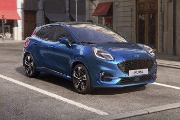 Ford Puma Blau 2020