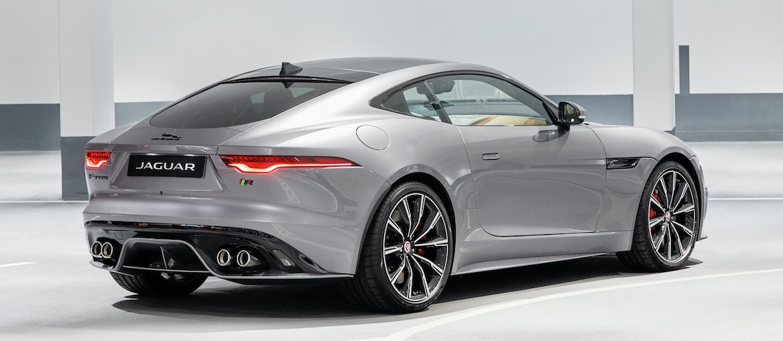 F-Type 2020 R Silber Heck