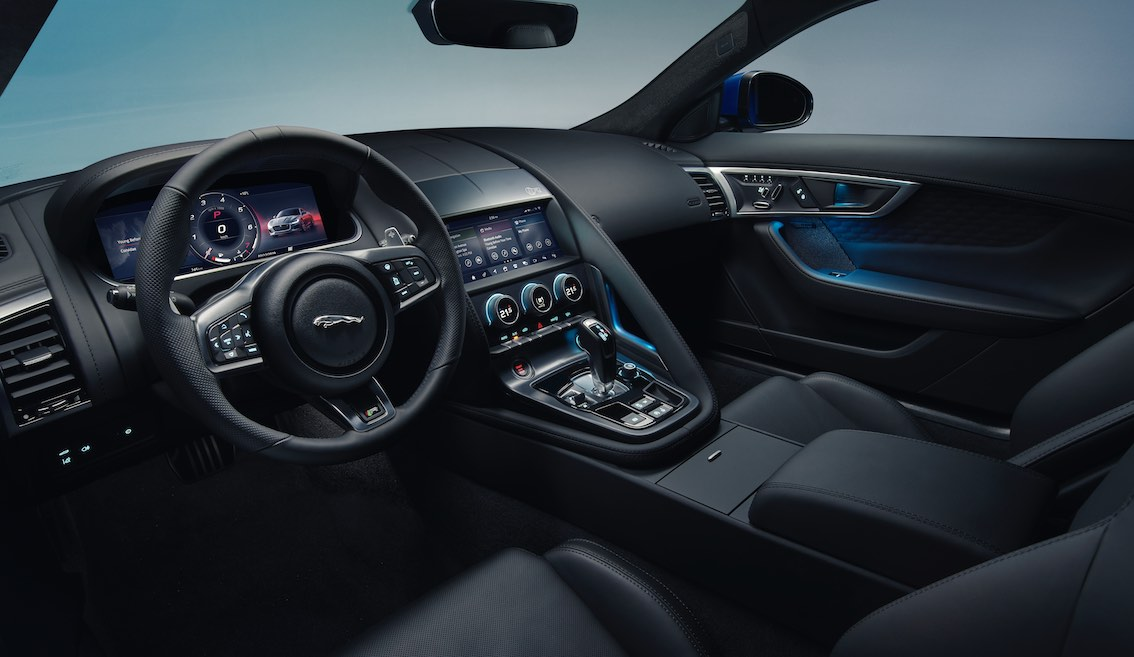 Jaguar F-Type 2020 Innenraum