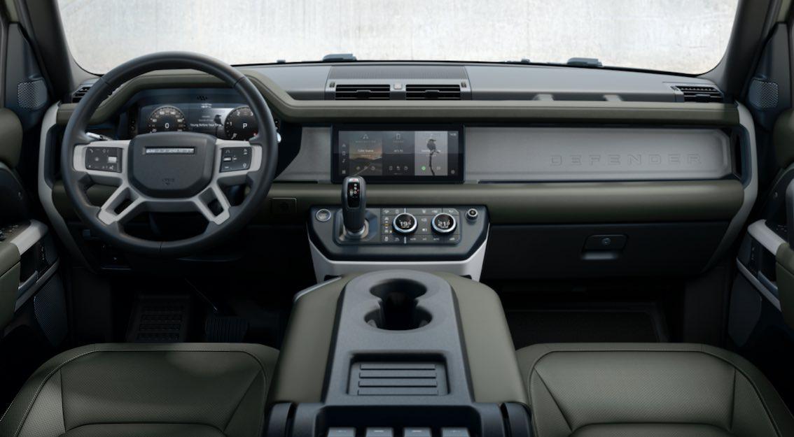 Land Rover Defender 2020 110 Amaturenbrett