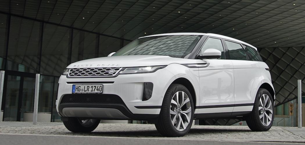 Range Rover Evoque weiß Modelljahr 2020