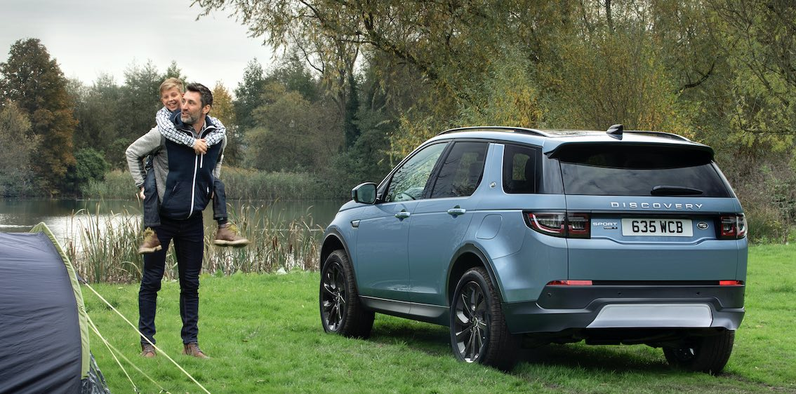 Land Rover Discovery Sport Hybrid Heck