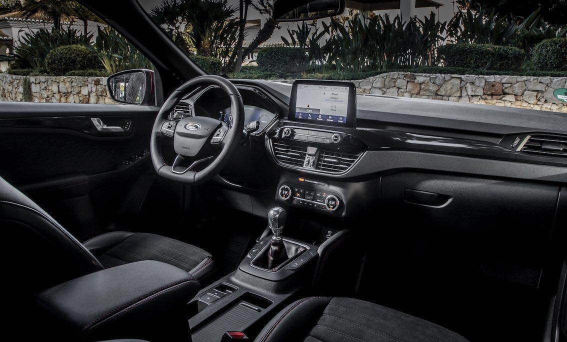 Ford Kuga 2020 Plugin Hybrid Innenraum