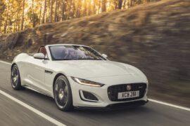 Jaguar F-Type Cabrio Weiss