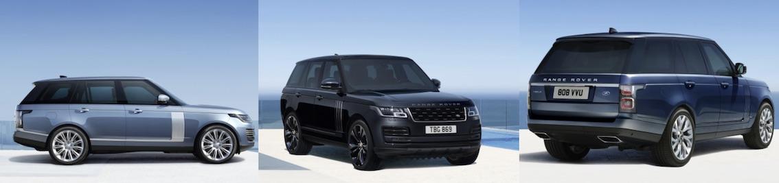 Range Rover 2020 Sondermodelle