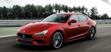 Maserati Ghibli Trofeo Rot
