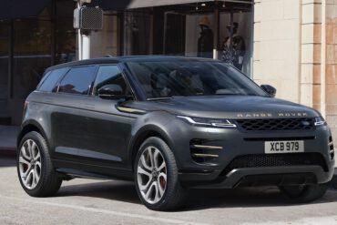 Range Rover Evoque 2021 Grau