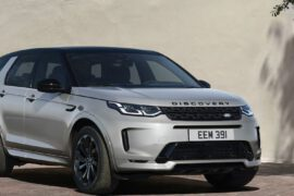Land Rover Discovery Sport 2021 in Silber